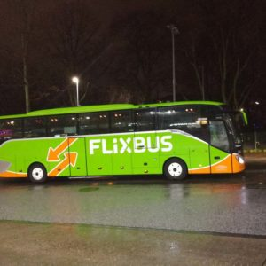 Flixbus in Hamburg