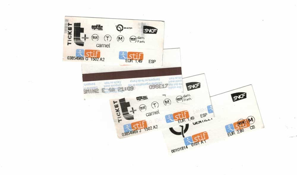 Neue Metrotickets in Paris