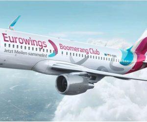 Bonusmeilen im Eurowings Boomerangclub