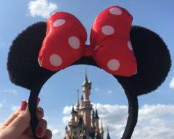 Disney Paris Blick auf Schloss