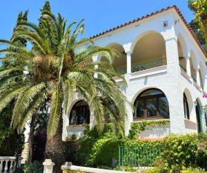 Ferienhaus Spanien mit Palmen Finca