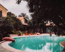 Ferienhausanlage mit Pool