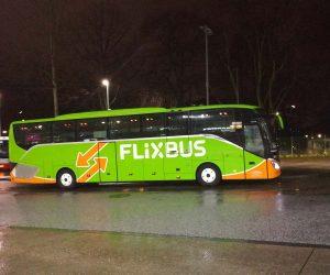Flixbus in Hamburg