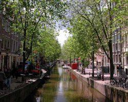 Grachten Kanal in Amsterdam