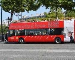 Les Cars Rouge Paris Hop-on Hop-off