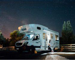 Maui Camper Neuseeland nachts