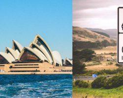 Mietwagen Australien Linksverkehr