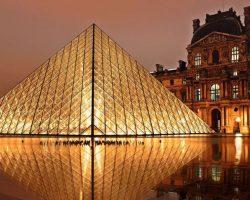 Paris Louvre Pyramide