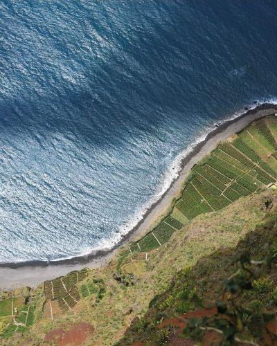 Steilkueste auf Madeira