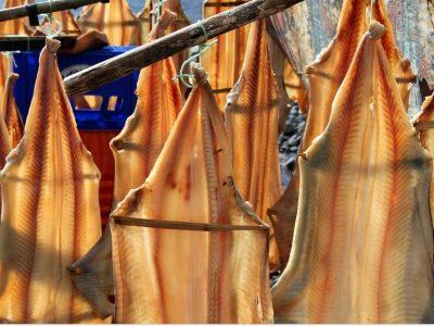 Trockenfisch auf Madeira