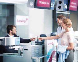 eurowings zieht um: Muenchen Airport