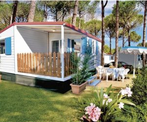 Urlaub auf Campingplatz: Adria Mobilhome