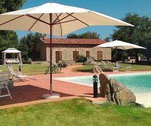 Ferienhaus mit Pool, ferienhaus petriolo escape toskana