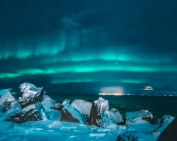 polarlights in Iceland
