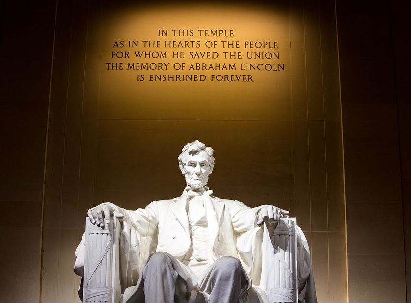 Abrahm Lincoln Memorial Washington