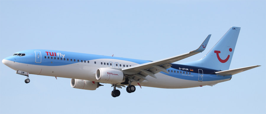 TUIFly ohne Boeing 737 Max